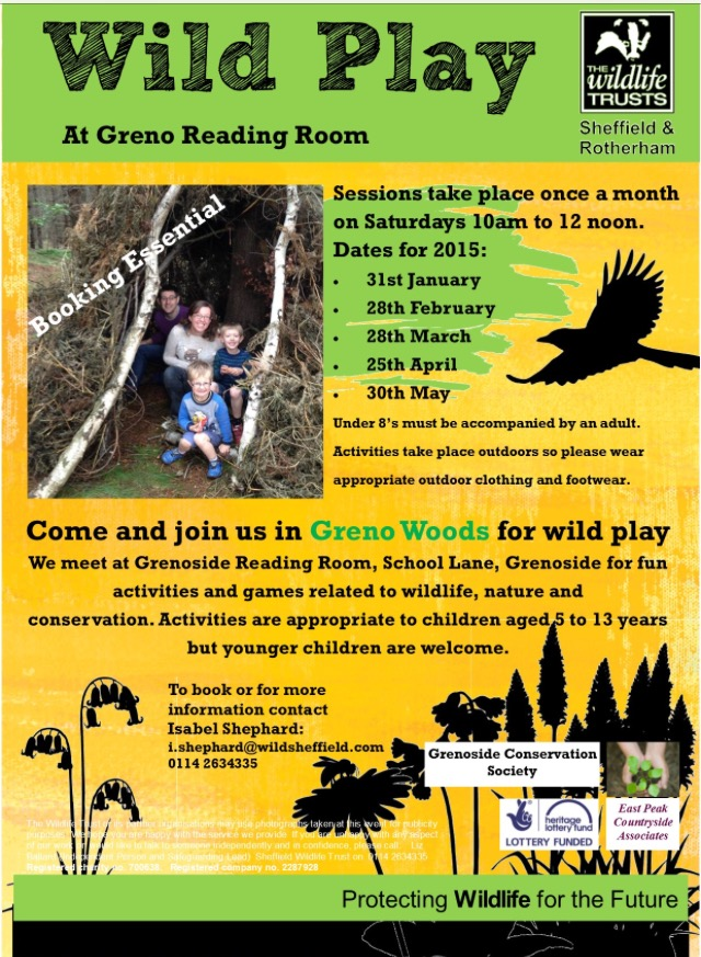 wild play SWT reading room Jan to may 2015