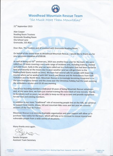 1-letter of thanks woodhead mountain rescue team